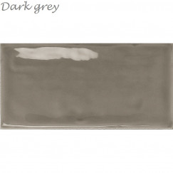 Wandtegels Century 7,5x15 Dark Grey