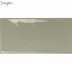 Wandtegel Century Sage 7,5x15 cm