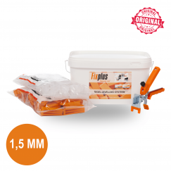 Fix Plus Starters Kit 100 PRO 1,5mm. SET100PRO-M15