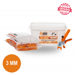 Fix Plus Starters Kit 100 PRO 3mm. SET100PRO-M3